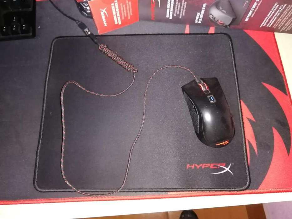 Combo Gamer, Mouse y Mousepad HyperX Fps