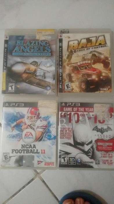 Vendo Juegos Originales Ps 3
