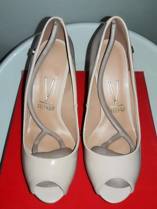 5c3ed373 Zapatos Tacos Stilettos <strong>vizzano</strong> Talla 37