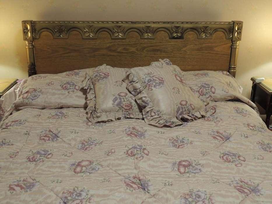 <strong>cama</strong> de 2 plazas con cajoneras.