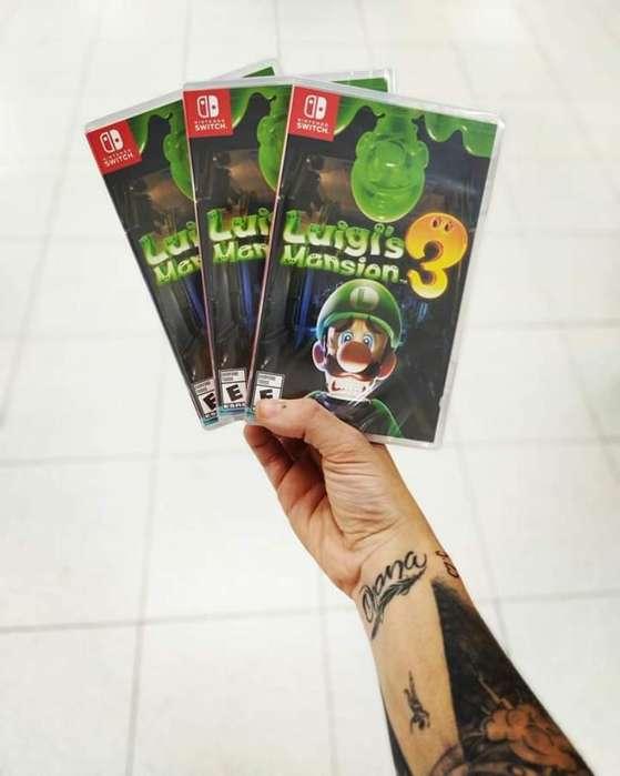 Luigi Mansion Recibimos Tus Juegos
