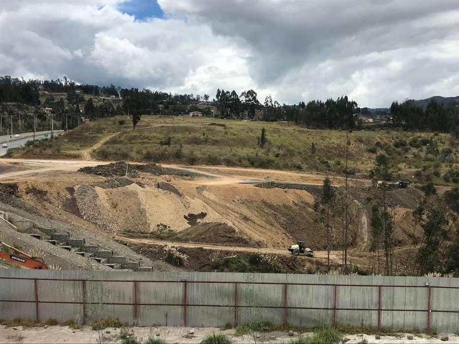 Venta de Terreno en Via Azogues, a 10 minutos de Cuenca