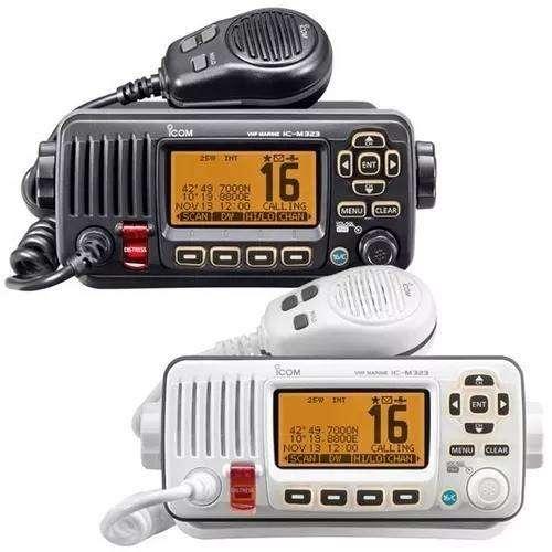 Ic-m324 Radio Vhf De Montaje Fijo
