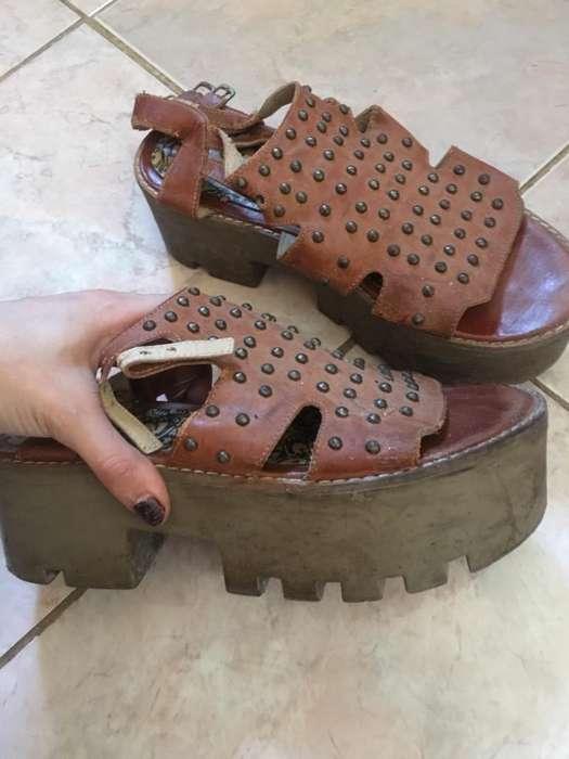 Vendo Zapatos Plataforma