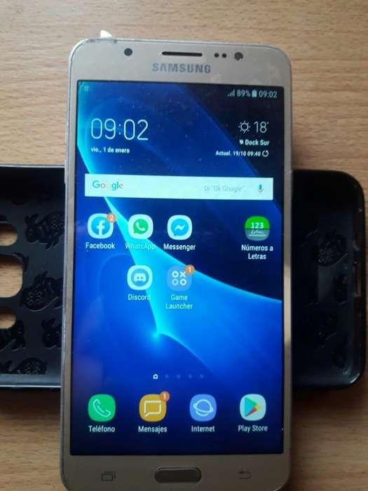 Samsung J7 Dorado Libre Detalles