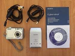 Cámara digital Sony Cybershot DSCS650