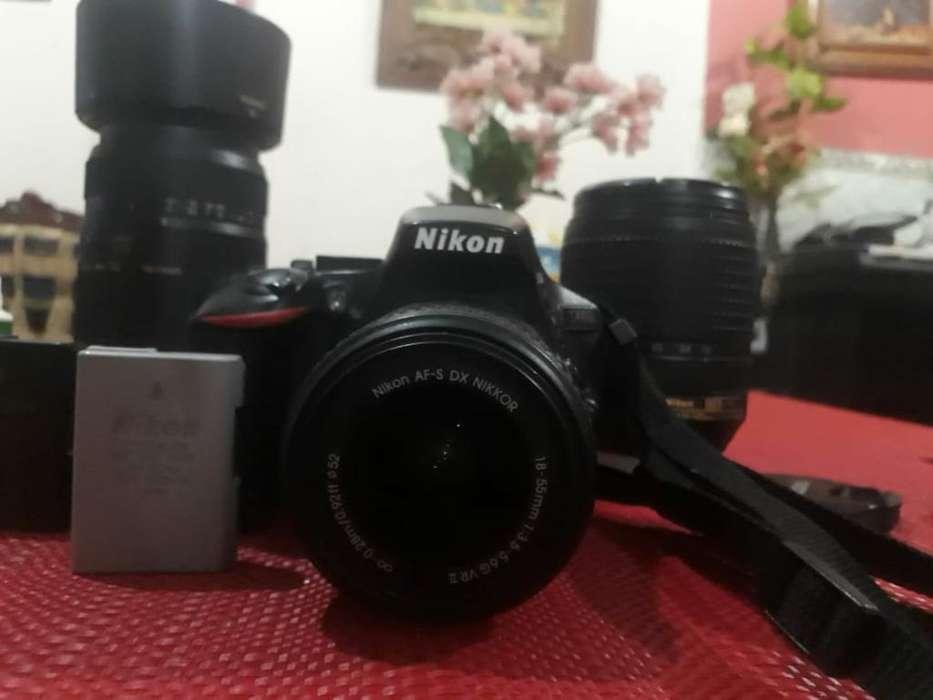 Nikon D5500 con Lentes