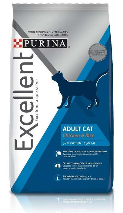 Excellent Gato Adulto 15 kg