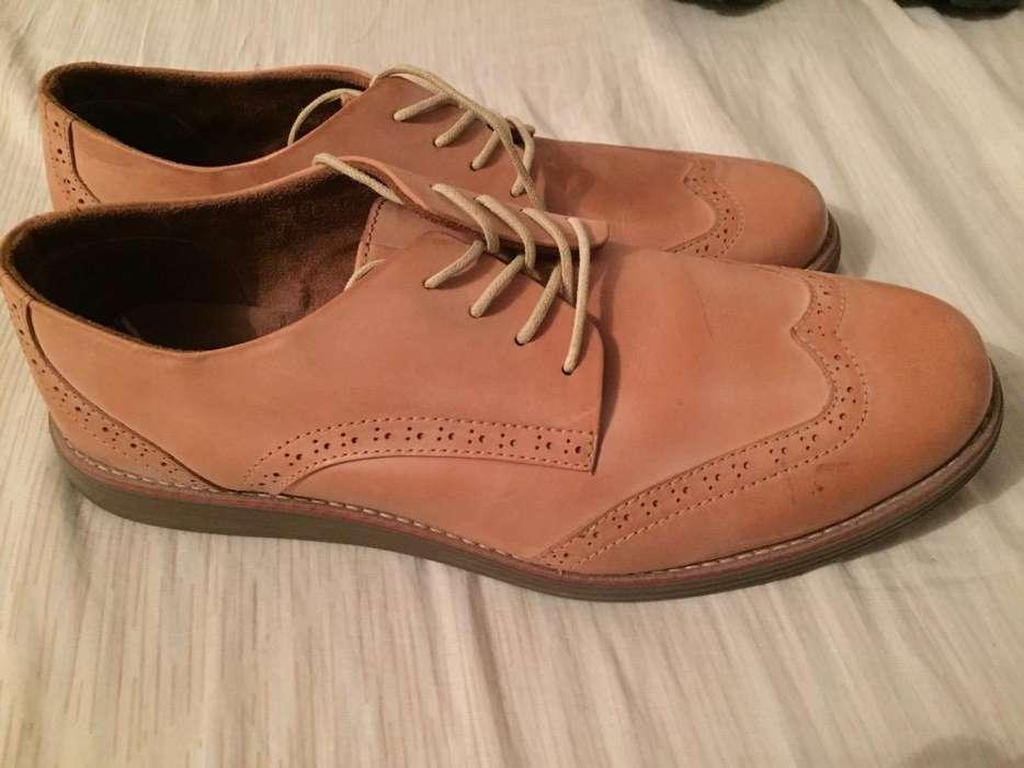 Zapatos Cuero Tanino T 43