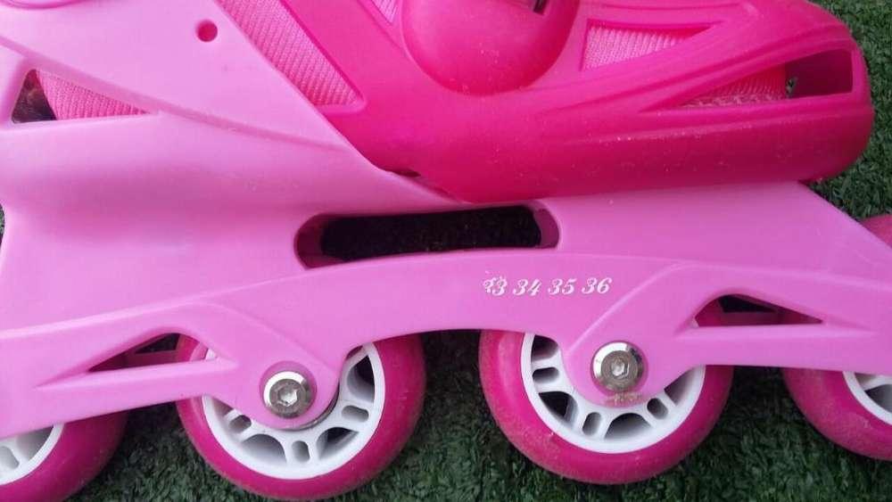 Patines Rollers Como Nuevos