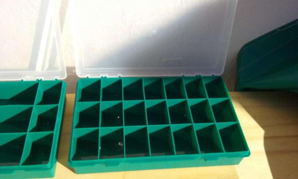 caja organizador 21 divisiones marca tayg (españa ) !!