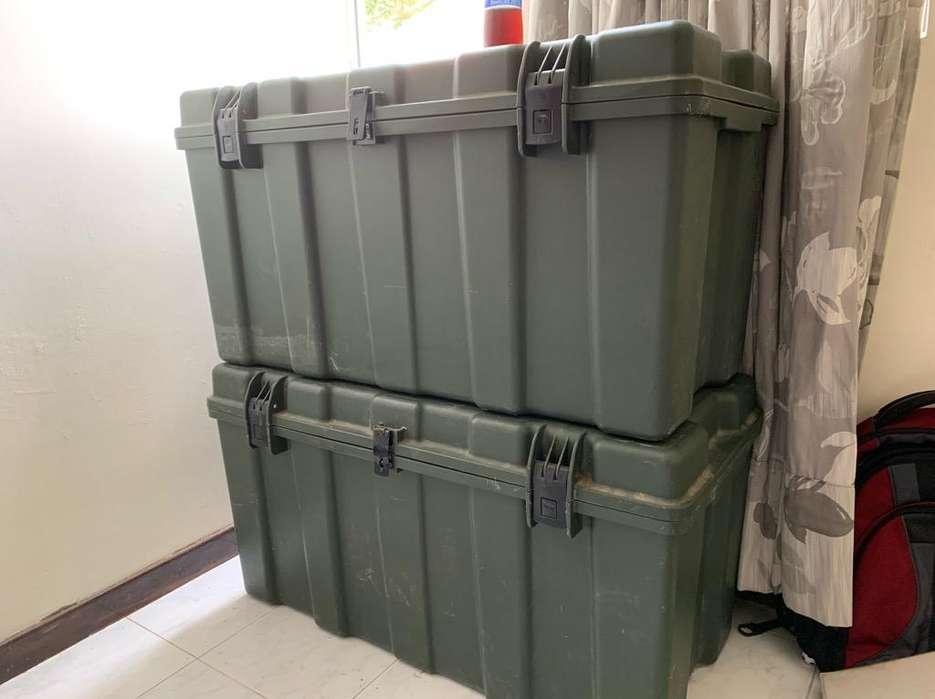 Cajas Verdes Militares