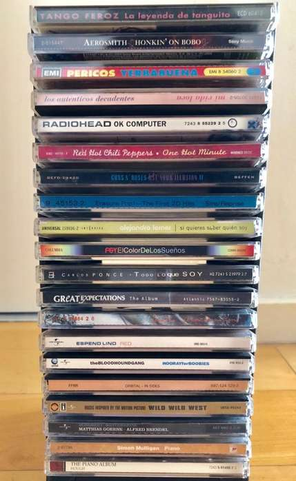 35 Cd y DVD Varios lote buenos titulos