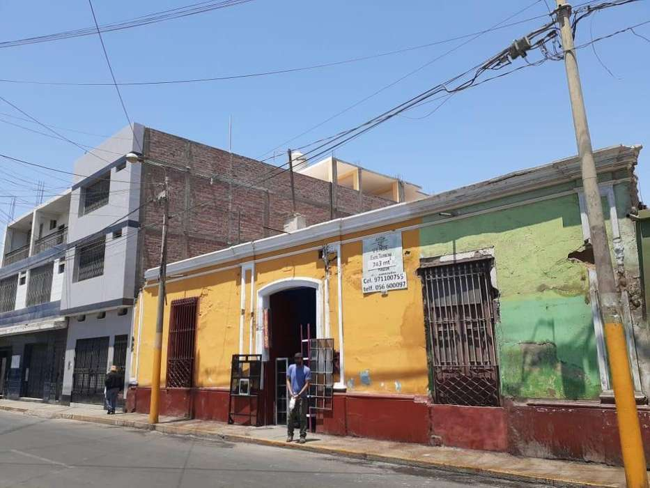 (S-61) TERRENO COMERCIAL UBICADO EN LA MEJOR ZONA DE ICA