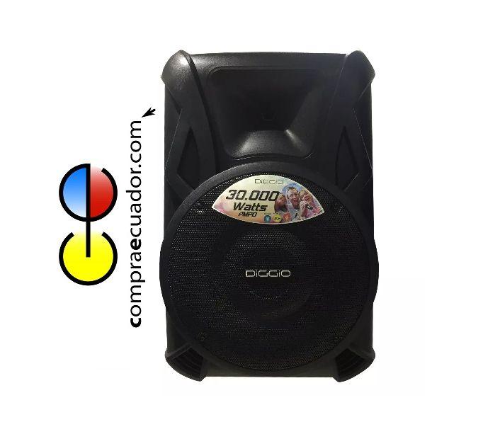 DIGGIO Parlante Amplificado 30000 Watts Bluetooth Pedestal