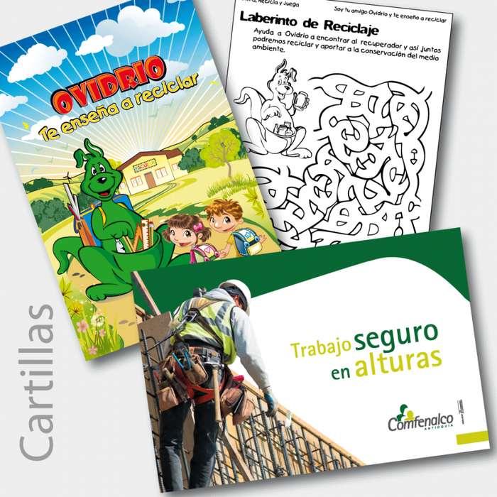 CARTILLAS, folletos, catalogos