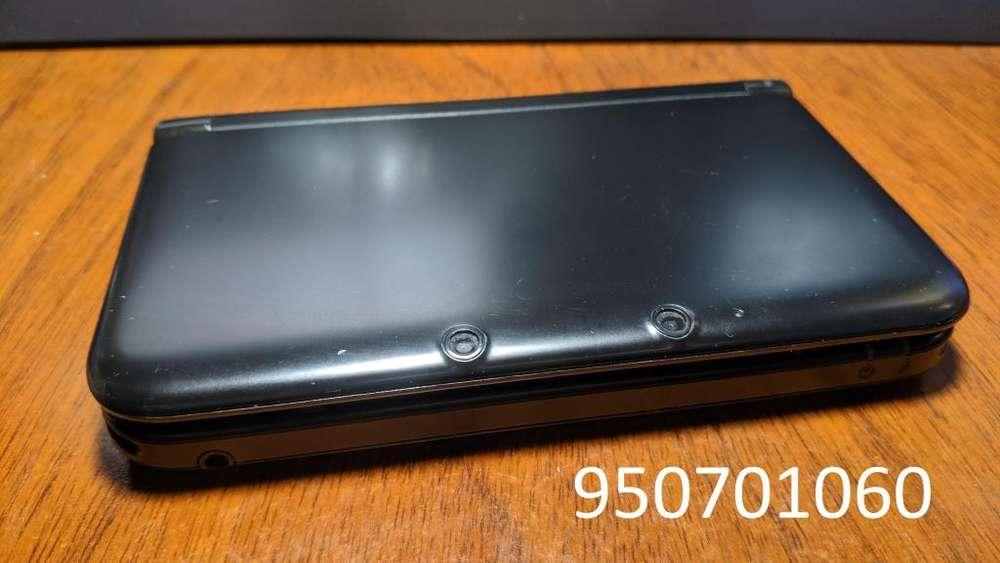 Nintendo 3ds Xl Negro fl.asheada, Poco Uso