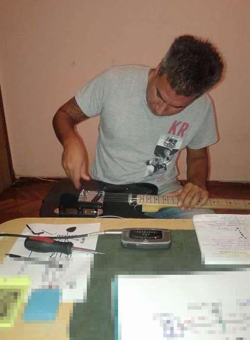 Calibro tu guitarra o bajo a domicilio