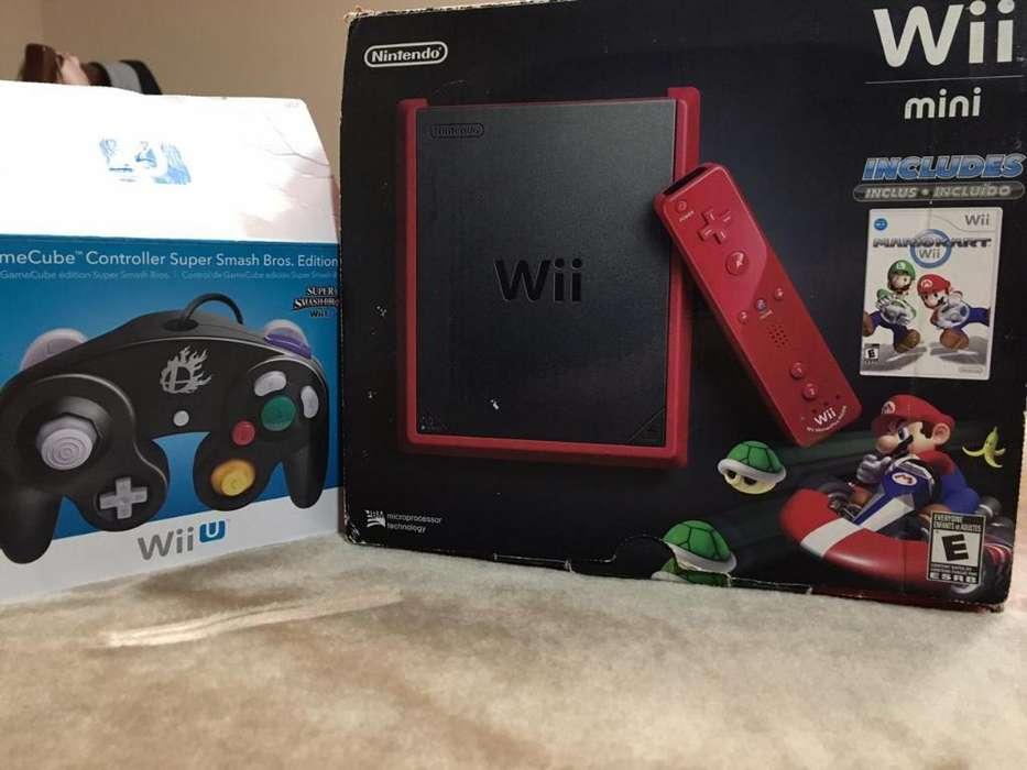 Nintendo Wii Mini Y Control