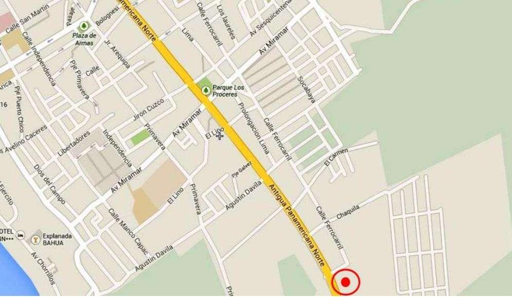 Vendo Terreno en Barranca Area. 4,900