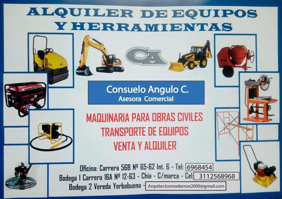Alquiler de equipos construcción, Herramientas, Arrendamientos, Mantenimiento Propiedad Horizontal