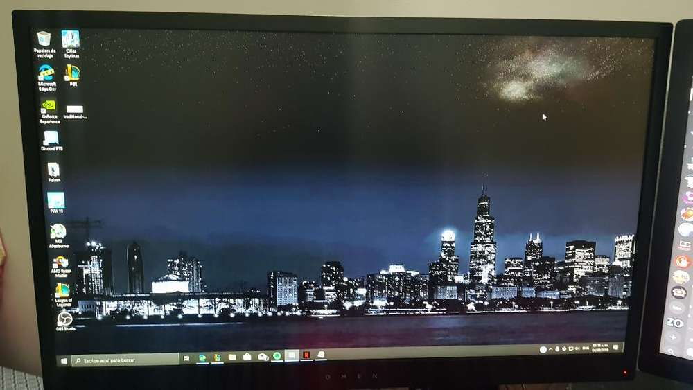 Monitor Hp 24pulg 144hz