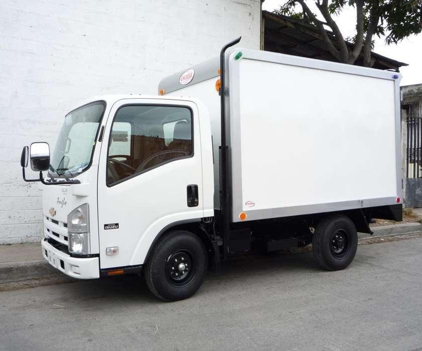 Furgón Semitermico para camión NLR