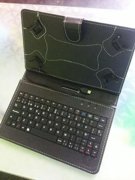 Funda Teclado Tablet 7