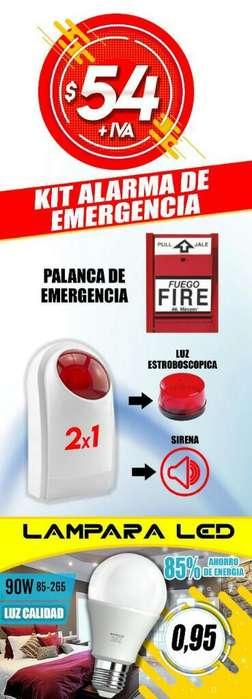 Kit Alarma de Emergencia