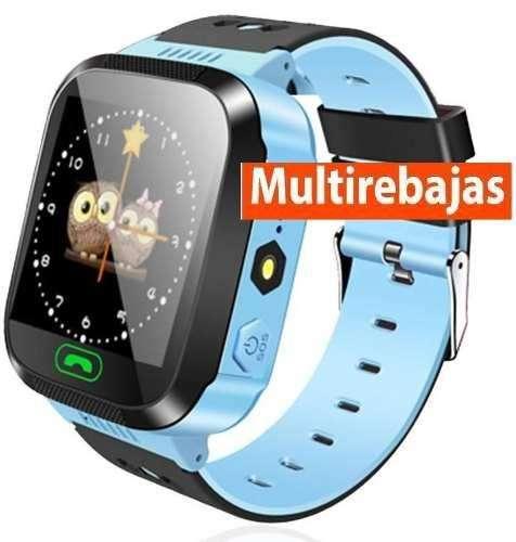 Reloj Smart Watch Tactil Niños Localizador Gps Llamadas Chat