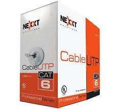 Cable UTP Cat6 - Azul-Nexxt
