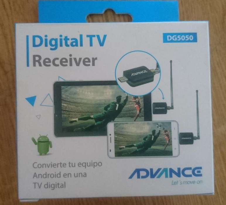 Receptor de TV Digital Advance para dispositivos Android