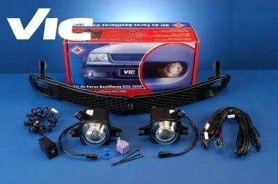 Kit de <strong>faros</strong> auxiliares rompe nieblas Volkswagen Gol 1999 al 2005