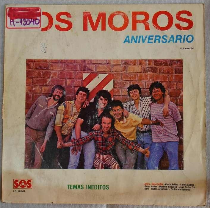 disco vinilo los Moros aniversario
