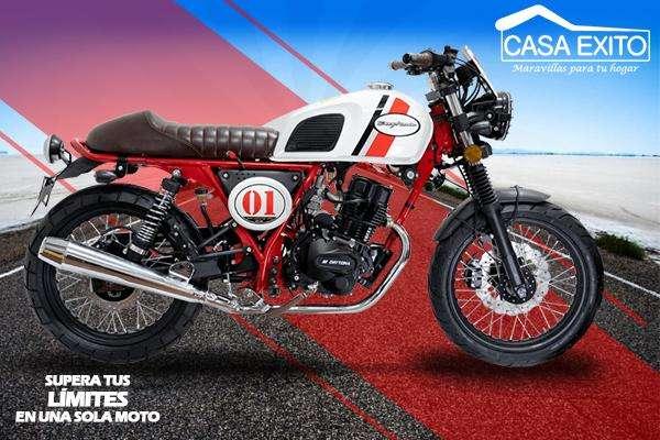 Moto Daytona DY180 Legend 180cc año 2019 Color Blanco Casa Éxito