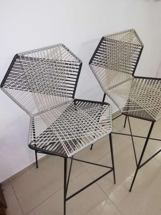 Vendo 2 <strong>silla</strong>s de Barra Modernas