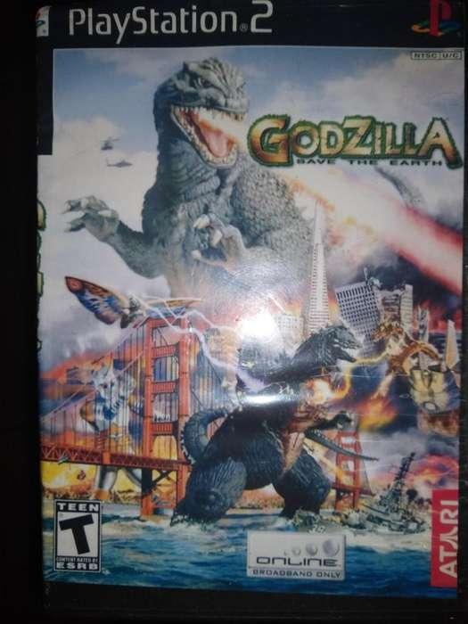 godzilla save the bart PLAY STATION 2 CD <strong>atari</strong> TEEN
