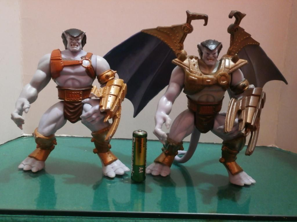 Figuras Gárgolas: Battle Goliath Dúo Kenner - KO