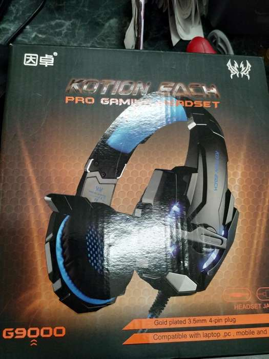 Audifonos Gamer Pro Kotion Each G9000