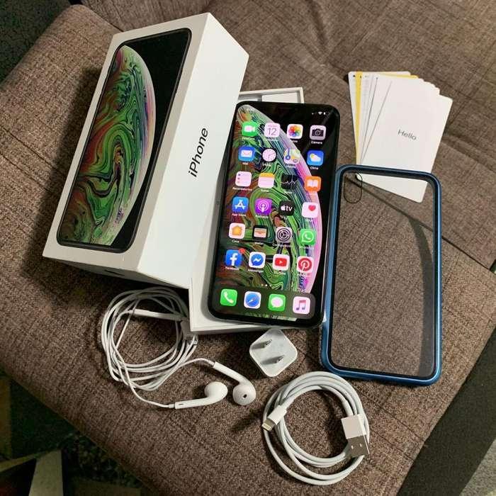 IPhone XS Max de 256GB Caja Accesorios y Case Magnetico