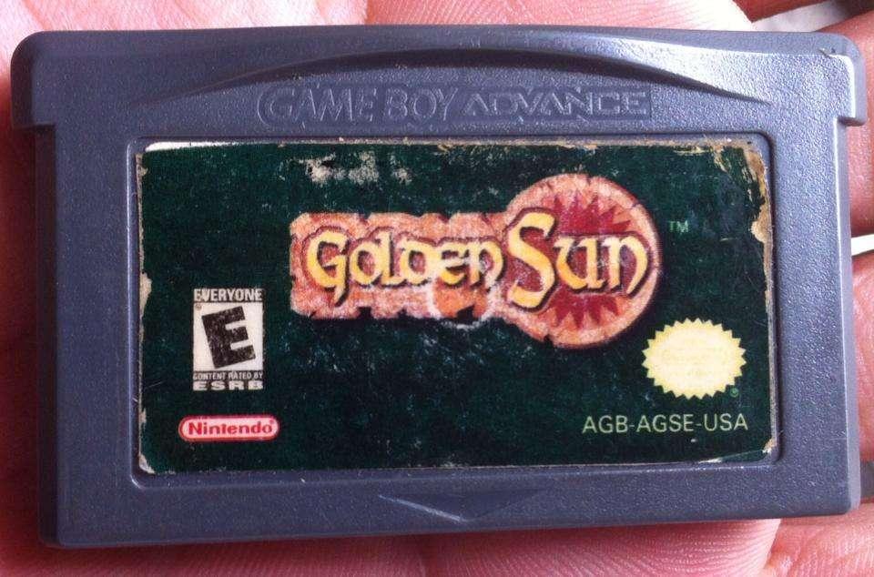 GOLDEN SUN ORIGINAL GBA