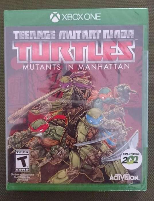 NUEVO Tortugas Ninja Mutantes En Manhattan Xbox One