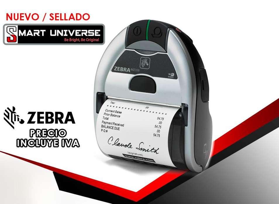 <strong>impresora</strong> Portatil Movil Zebra Imz320 Recibos Bluetooth