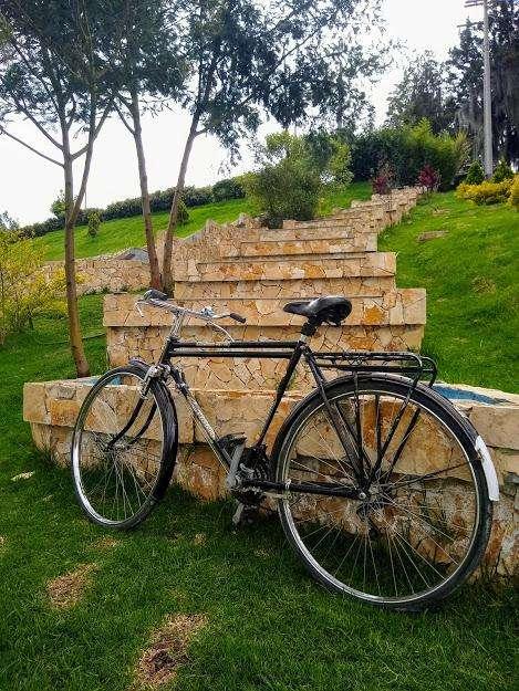 Bicicleta turismera clásica