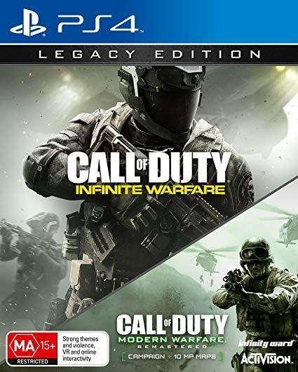 Call of Duty Infinite Warfare Modern Warfare PS4