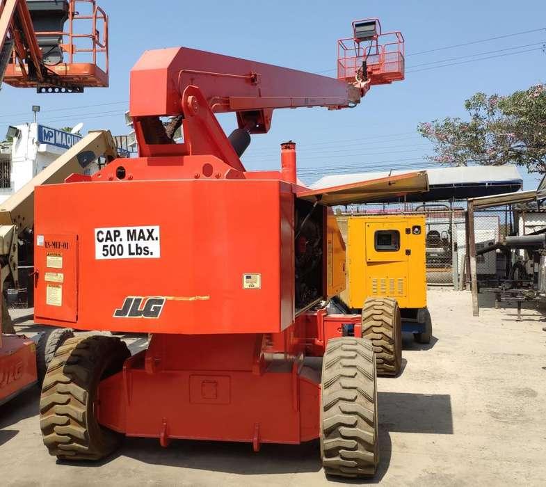 Manlift JLG 860 25 mts Certificado Vigente ante ONAC