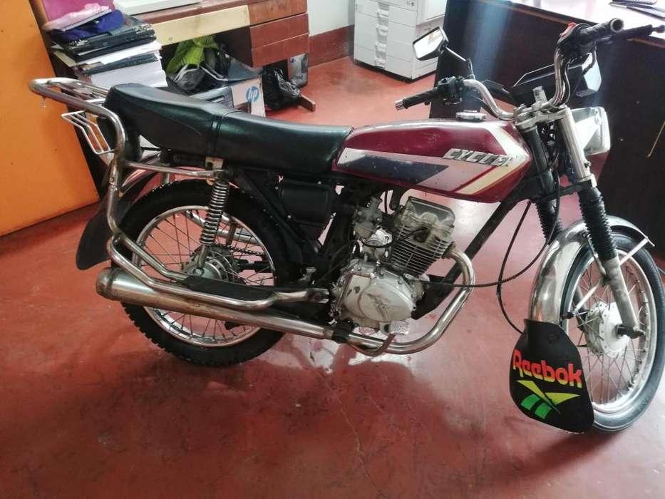 Vendo Moto cycler económica