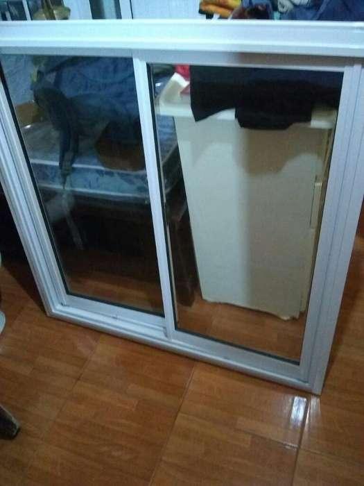 Vendo Ventana 1x1 sin Uso <strong>aluminio</strong> Blanc