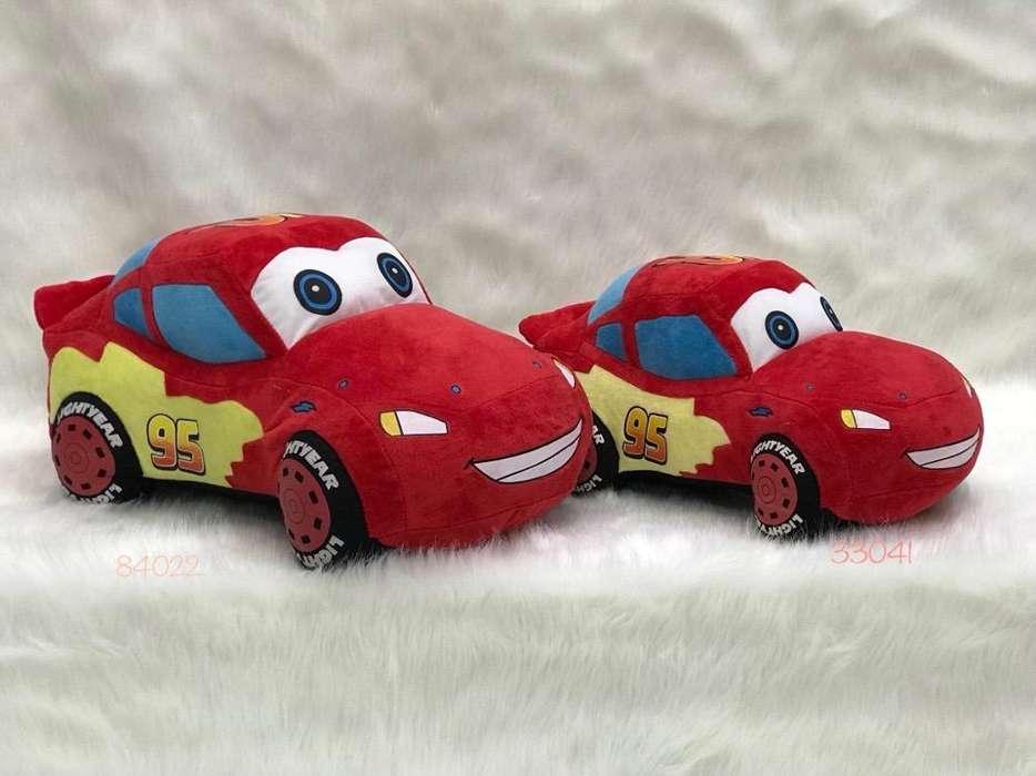 Cars en Peluche Grande Y Pequeño