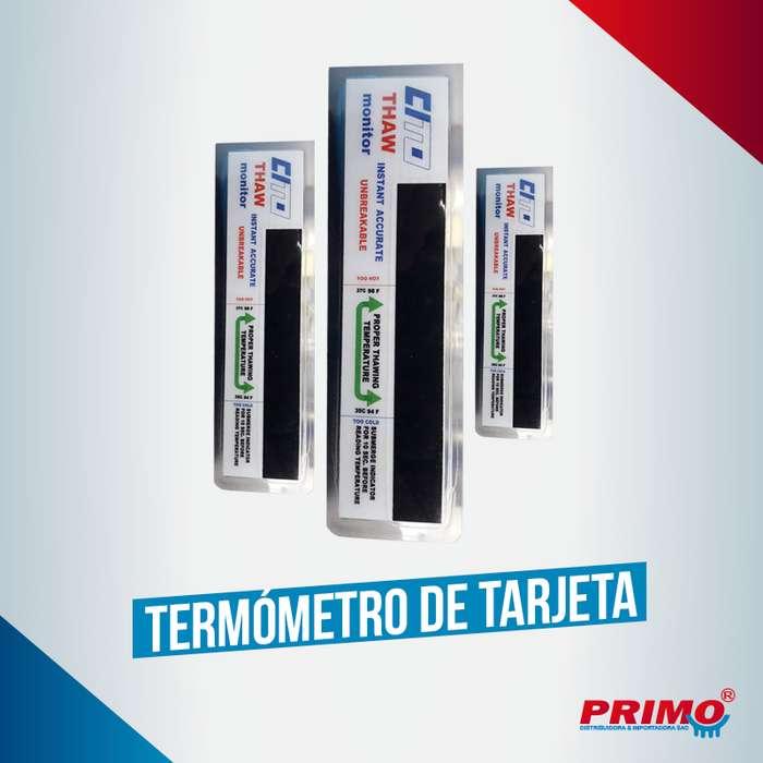 Termometro Tarjeta Digital ideal para ganadería e inseminación